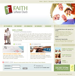 faith lutheran church website